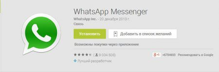 Все о программе WhatsApp