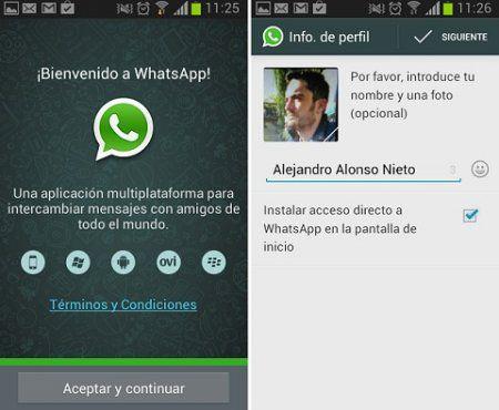 Реєстрація WhatsApp